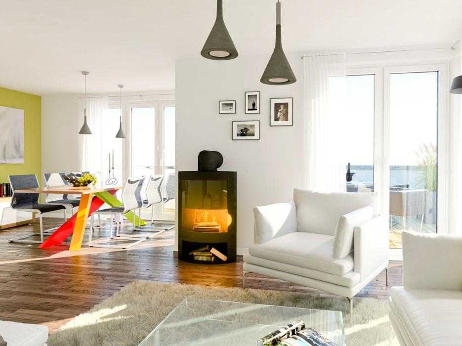 3D Visualisierung von: Interieur einer Penthouse-Wohnung | hajon.de